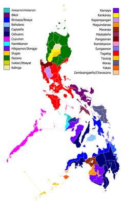 Philippine Ethnic Groups by province Philippines Tourism, Philippines Culture, Philippine Map, Geography Map, Visayas, Mindanao, Tagalog, Lettering Tutorial, Historical Maps