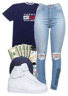 """""""Untitled #144"""" by itsteresa ❤ liked on Polyvore featuring NIKE"""