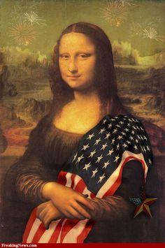 American Mona Lisa