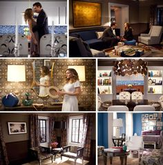 """Sex and the City 2 (2010) As Carrie says in the movie, """"I've been cheating on fashion with furniture"""". Tremendous effort was made to design a space that would reflect the combined residence of Mr. & Ms. Big."""