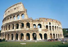 Coliseu - Roma, o coração da Itália.