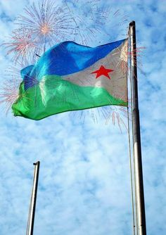 Independence Day 2014 Djibouti Flag Wallpapers, Pictures, Images