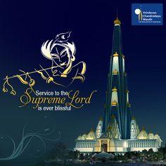 Serve Supreme Personality of Godhead, Krishna and help us in building Krishna temple