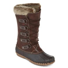 c3143fd80302 Yuu™ Fiona Womens Cold Weather Mid-Calf Boots - JCPenney Cold Weather Boots