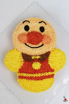 Anpanman scenes pinterest birthday cakes and cake for Anpanman cake decoration