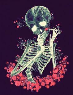 ❁the morbid fairy♥ Illustrations, Illustration Art, Bizarre Art, Skeleton Art, Skull Wallpaper, Skulls And Roses, Design Graphique, Creepy Cute, Skull Art