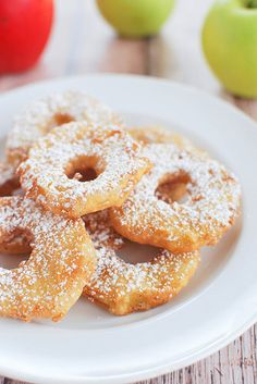 Easy Apple Fritters - my kids love these!