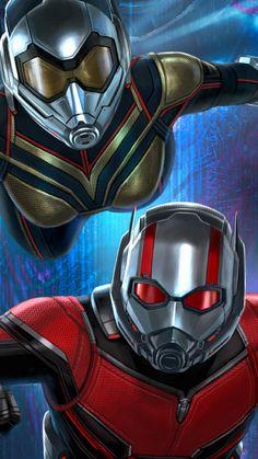 Ant-Man and the wasp - Marvel Comics Marvel Comics, Marvel Heroes, Marvel Characters, Captain Marvel, Marvel Avengers, Vespa Marvel, Geek Culture, Marvel Universe, Comic Movies