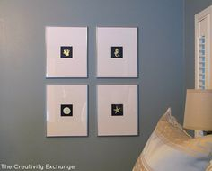 DIY- How to Gold Leaf on Paper- Craft- Decorate- Instructions-Inexpensive wall art- DIY wall art