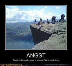 demotivational posters - ANGST