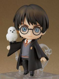 Good Smile Company: Nendoroid Harry Potter in preordine! Hedwig Harry Potter, Harry Potter Anime, Harry Potter Kunst, Harry Potter Dolls, Harry Potter Drawings, Harry Potter Tumblr, Harry Potter Pictures, Harry Potter Film, Harry Potter Love