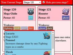 How to find weakness of Pokemon Shuffle