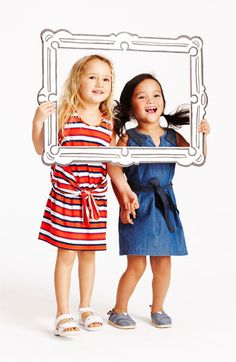 LITTLE MARC JACOBS Sleeveless Dress (Little Girls & Big Girls) | Nordstrom