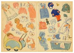 78.2789: baby | paper doll | Paper Dolls | Dolls | National Museum of Play Online Collections | The Strong