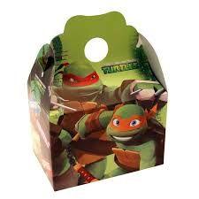 Resultado de imagen para ninja turtles favor box