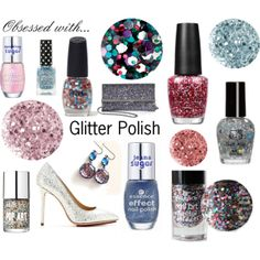 """""""Obsessed with... Glitter Polish"""""""