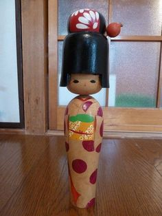 Japanese vintage kokeshi doll ( about 12.4 inch)
