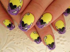 Funky Inspired By ProfessionalDQ  by Stoneycute1 - Nail Art Gallery nailartgallery.nailsmag.com by Nails Magazine www.nailsmag.com #nailart