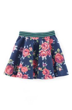Mini Boden Jersey Skirt (Toddler Girls, Little Girls & Big Girls) available at #Nordstrom