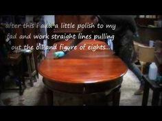 How to Repair a Polyurethane Wood Finish : Furniture Repair Tips - YouTube