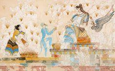 Η Πότνια θηρών είναι τοιχογραφία που ανακαλύφθηκε στον οικισμό του Ακρωτηρίου Θήρας, στο δωμάτιο 3Α του πρώτου ορόφου του κτιρίου Ξεστή 3, στον βόρειο τοίχο. Αποτελεί θεματική ενότητα με την τοιχογραφία με τις Κροκοσυλλέκτριες που βρισκόταν στο ίδιο δωμάτιο. Η Ξεστή 3 είναι το μόνο - μέχρι τώρα - αδιαμφισβήτητο δημόσιο Ιερό του οικισμού