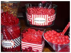 More Firefighter candy bar ideas