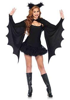 Leg Avenue Cozy vleermuizen vleugels bolero en haarband zwart - Kostuum Party Halloween - One size - Leg Avenue Bat Costume Womens, Adult Costumes, Costumes For Women, Party Costumes, Diy Costumes, Costume Ideas, Cosplay Costumes, Bat Halloween Costume, Halloween Party