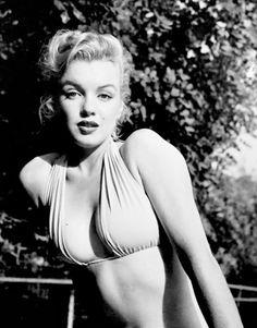 """alwaysmarilynmonroe: """"""""Marilyn by Bob Beerman in 1951. """" """""""
