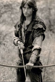 Michael Praed as Robin of Loxley in HTV's Robin of Sherwood.