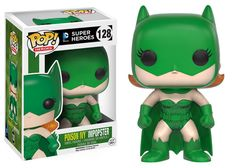 - The villains of Gotham are dressing up like Batman and Batgirl! This Batman Impopster Poison Ivy Pop! Vinyl Figure features Poison Ivy's style applied to Batgirl's classic outfit. - The Batman Impop