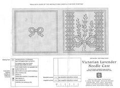 (4) Gallery.ru / Фото #1 - Victorian lavender-needle case - mtecuka