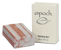 Epoch Polishing Bar  Soap Free - No Parabens  Leaves skin feeling smooth and polished ☺️☺️