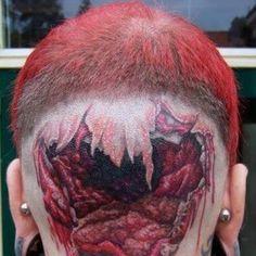 A selection of Bio Mechanical/Organic/Anatomical tattoos.