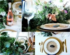 Romance in Greenery Stylized Wedding Shoot