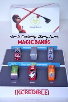 BEST INFO EVER .customize your Magic Bands for Walt Disney World. You can simply use polish or order decals. The third point is really important. Disney Diy, Disney Crafts, Disney Dream, Disney Love, Walt Disney, Disney 2017, Disney World Planning, Disney World Vacation, Disney Vacations
