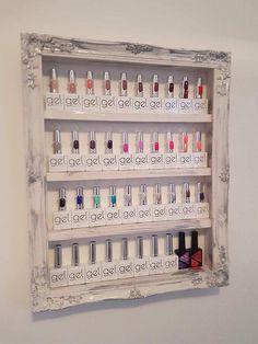 18 best nail polish racks salon displays images lounges salons rh pinterest com