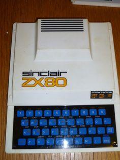 Sinclair ZX80 Computer.