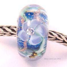 Flower Fairy Garden Glaslight Artisan Handmade by glasslight