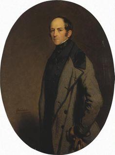 Portrait of Count Alexei Bobrinsky, 1844  Franz Xaver Winterhalter