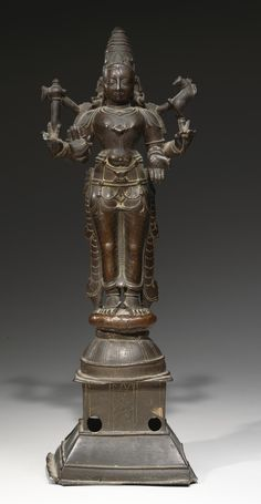 The lord adorned with the crescent moon, holding an… Shiva Linga, Shiva Shakti, Indian Gods, Indian Art, Bronze Sculpture, Wood Sculpture, Hindu Statues, Shiva Statue, Brass Statues