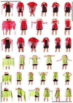 Short Sari wrap: