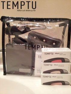 Temptu AIRbrush Makeup Kit via www.hairsprayandhighheels.com