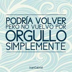 Toda separación es difícil, sobre todo si se trata de una relación de amor. Juan Gabriel dejó un gran legado de canciones y frases de desamor que te ayudarán a ver las cosas de una mejor manera.  #JuanGabriel #Frases #Desamor
