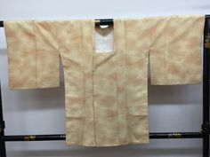 "SALE Michiyuki Kimono coat "" Yellow clouds "" vintage 70's by ARTradeJAPAN on…"