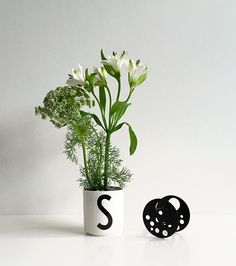 Flower holder for our porcelain cups