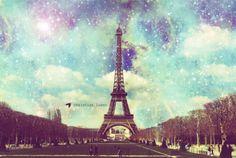 I dream of going to Paris to study fashion <3