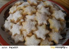 Christmas Candy, Christmas Baking, Christmas Cookies, Czech Recipes, Ethnic Recipes, Czech Desserts, Cookie Recipes, Food To Make, Sweet Tooth