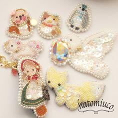 バッグあれこれ の画像|鳩みう子のハンドメイドブログ*キラキラのビーズ刺繍【4コマ/変な恋人(変恋)】