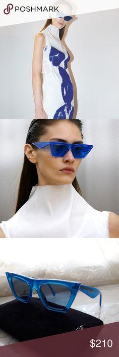 301cf75008b9 CELINE CL41468 BLUE   BLUE GRADING LENS -NEW NEW CELINE CL41468 BLUE