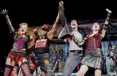 Two of my favs - Kerry Ellis and Tony Vincent in We will Rock You!